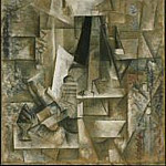 1912 Homme Е la guitare2, Pablo Picasso (1881-1973) Period of creation: 1908-1918