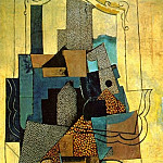 1916 Homme Е la cheminВe, Pablo Picasso (1881-1973) Period of creation: 1908-1918