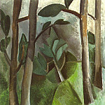 1908 Paysage4, Pablo Picasso (1881-1973) Period of creation: 1908-1918