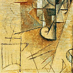 Pablo Picasso (1881-1973) Period of creation: 1908-1918 - 1911 Le verre
