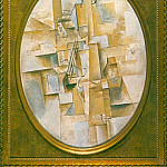 1912 Violon pyramidal, Pablo Picasso (1881-1973) Period of creation: 1908-1918