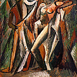 Pablo Picasso (1881-1973) Period of creation: 1908-1918 - 1909 Baigneurs qui se sКchent