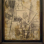 1912 Nature morte qui, Pablo Picasso (1881-1973) Period of creation: 1908-1918