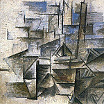1910 Le port de CadaquВs, Pablo Picasso (1881-1973) Period of creation: 1908-1918