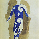 1917 Parade – projet pour un costume dacrobate, Pablo Picasso (1881-1973) Period of creation: 1908-1918