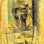 Pablo Picasso (1881-1973) Period of creation: 1908-1918 - 1912 ArlВsienne1