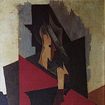 Pablo Picasso (1881-1973) Period of creation: 1908-1918 - 1917 Homme assis accoudВ