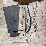 1914 Etudiant Е la pipe. JPG, Pablo Picasso (1881-1973) Period of creation: 1908-1918