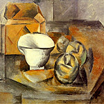 1909 Nature morte , Pablo Picasso (1881-1973) Period of creation: 1908-1918