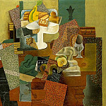 Pablo Picasso (1881-1973) Period of creation: 1908-1918 - 1914 Nature morte aux fleurs de lis