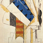 1913 TИte dhomme, Pablo Picasso (1881-1973) Period of creation: 1908-1918