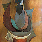 Pablo Picasso (1881-1973) Period of creation: 1908-1918 - 1917 Personnage