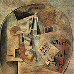Pablo Picasso (1881-1973) Period of creation: 1908-1918 - 1912 Ma Jolie Mural