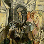 1910 Nu dans un fauteuil, Pablo Picasso (1881-1973) Period of creation: 1908-1918