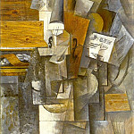 1912 Violon Jolie Eva, Pablo Picasso (1881-1973) Period of creation: 1908-1918