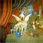 Pablo Picasso (1881-1973) Period of creation: 1908-1918 - 1917 Rideau pour le ballet Parade