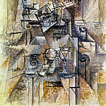 1911 LВtagКre, Pablo Picasso (1881-1973) Period of creation: 1908-1918