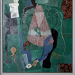 1914 Portrait de jeune fille. JPG, Pablo Picasso (1881-1973) Period of creation: 1908-1918