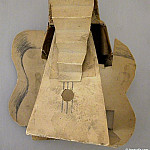 1912 Guitare, Pablo Picasso (1881-1973) Period of creation: 1908-1918