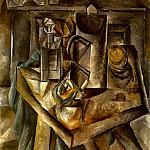 1909 Le bock, Pablo Picasso (1881-1973) Period of creation: 1908-1918