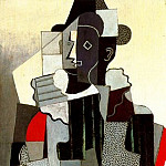 Pablo Picasso (1881-1973) Period of creation: 1908-1918 - 1918 Arlequin