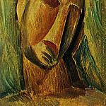 1908 TИte de femme, Pablo Picasso (1881-1973) Period of creation: 1908-1918