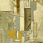 1913 Personnage arlequinesque , Pablo Picasso (1881-1973) Period of creation: 1908-1918