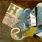 1915 Pipe, dВ, journal, Pablo Picasso (1881-1973) Period of creation: 1908-1918