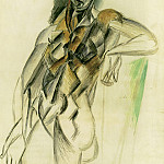 Pablo Picasso (1881-1973) Period of creation: 1908-1918 - 1909 Nu fВminin debout