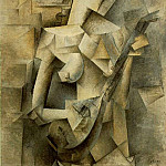 1910 Jeune fille Е la mandoline , Pablo Picasso (1881-1973) Period of creation: 1908-1918