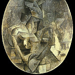 1910 Femme Е la mandoline, Pablo Picasso (1881-1973) Period of creation: 1908-1918