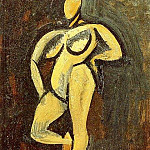 1908 Nu debout2, Pablo Picasso (1881-1973) Period of creation: 1908-1918