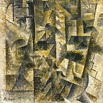1911 Paysage de CВret, Pablo Picasso (1881-1973) Period of creation: 1908-1918