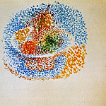 1917 Compotier avec fruits, Pablo Picasso (1881-1973) Period of creation: 1908-1918