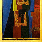 1916 LРgyptien1, Pablo Picasso (1881-1973) Period of creation: 1908-1918