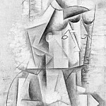 Pablo Picasso (1881-1973) Period of creation: 1908-1918 - 1912 ArlВsienne