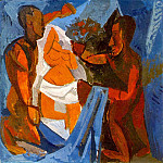 Pablo Picasso (1881-1973) Period of creation: 1908-1918 - 1908 LOffrande