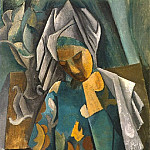 1909 La reine Isabeau, Pablo Picasso (1881-1973) Period of creation: 1908-1918