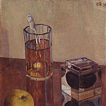 Kuzma Sergeevich Petrov-Vodkin - Still Life with inkwell. 1934