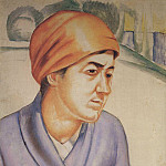Roerich N.K. (Part 1) - Portrait MF Petrova - Vodkin. 1912