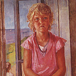 Kuzma Sergeevich Petrov-Vodkin - Daughter of a fisherman. 1936