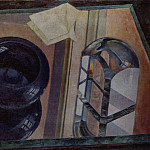 Still Life with an ashtray. 1920, Kuzma Sergeevich Petrov-Vodkin