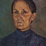 Portrait AP Petrova – Vodkin, mother of the artist. 1909, Kuzma Sergeevich Petrov-Vodkin