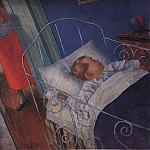 In the nursery. 1925, Kuzma Sergeevich Petrov-Vodkin