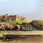 part 04 Hermitage - Dzhallina, Angelos - Athens. View of the city at the foot of the hill with the ruins of the Acropolis