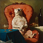 part 04 Hermitage - Dedra, Alfred - Pug in a chair