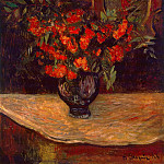 Bouquet, Paul Gauguin
