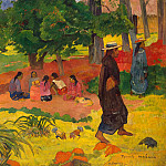 Early evening, Paul Gauguin