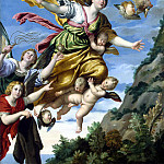part 04 Hermitage - Domenichino - The Taking of Mary Magdalene in the sky