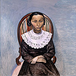 part 04 Hermitage - Derain, Andre - Portrait of a girl in black